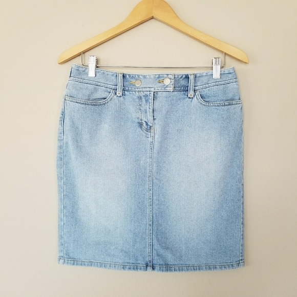 Loft Ann Taylor Loft 8p Denim Skirt From Akoeunbi S