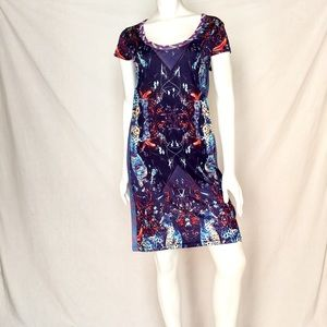NWOT Custo Barcelona Candice Puriri Dress Large