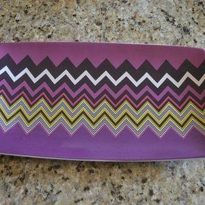 Missoni Other - Missoni Zig Zag Platter in violet