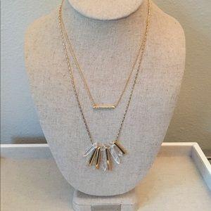 Stella & Dot Rebel Cluster necklace