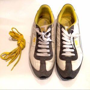 70dfe53df Puma Shoes - Puma Speeder RP Sneakers - grey / white / yellow