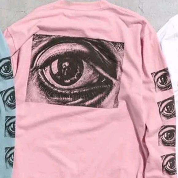372b4a0afc27 Supreme Shirts | M C Escher Eye Long Sleeve Tshirt | Poshmark