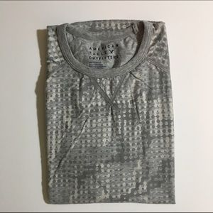 American Eagle Outfitters Other - SALE EUC Gray/Cream Dotted Camo American Eagle Tee