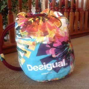 Desigual Handbags - DESIGUAL Sex, Fun & Love Duffle/Tote Bag