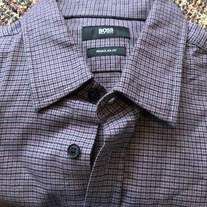 Hugo Boss men's casual shirt