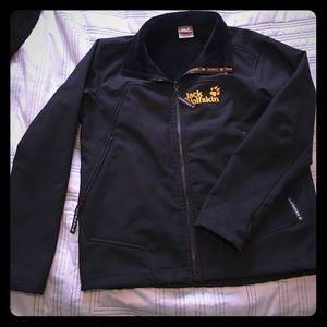 Jack Wolfskin Other - Jack Wolfskin Men's Outdoor Medium Black Jacket