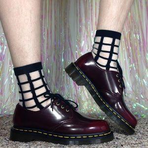 Dr. Martens Shoes - Dr. Martens Vegan Cherry Red Oxfords