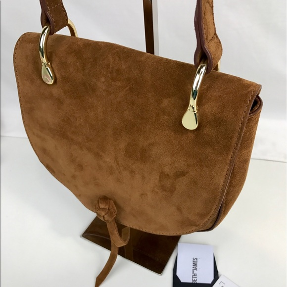70b074f87a Elizabeth And James Zoe Suede Saddle Bag
