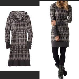 EUC Prana sweater dress