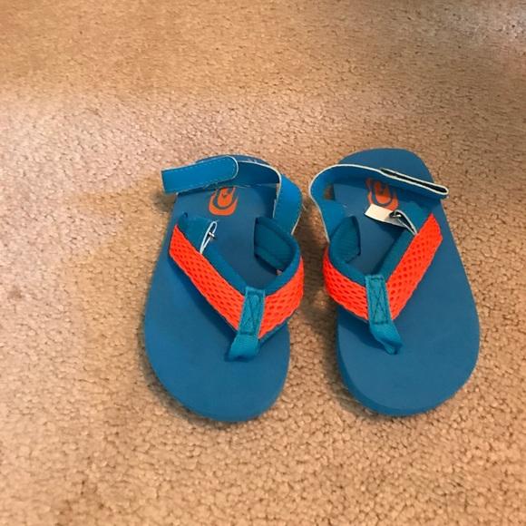 Toddler Boys Flip Flops Size 67