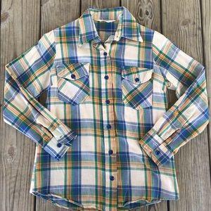 Woolrich Tops - Woolrich Plaid Button Down Shirt Sz 8