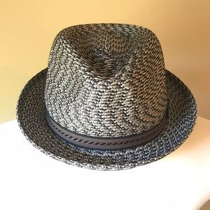 Bailey Of Hollywood Accessories - Bailey of Hollywood Mannes Fedora Woven Brown
