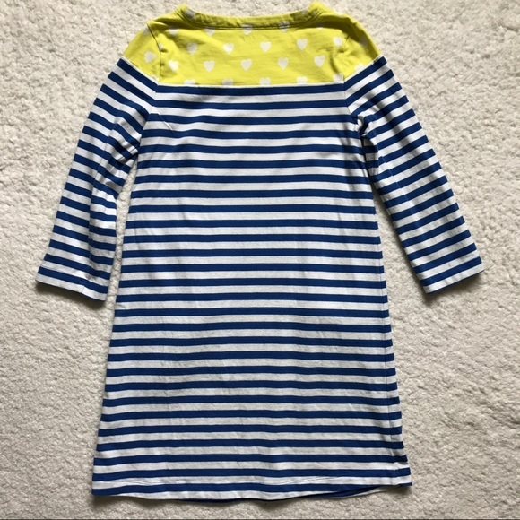Mini boden mini boden dress stripes and hearts from for Mini boden shop