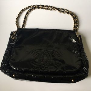 CHANEL Handbags - CHANEL Rock and Chain Large Flap Bag