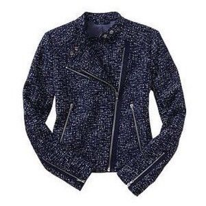 GAP Jackets & Blazers - Printed Moto Jacket