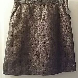 Tucker Dresses & Skirts - Tucker Target 11 Metallic Gold Blue NWT A Line
