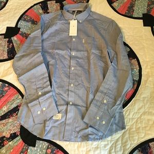 Five Four Other - 🎉HP!🎉 NWT Five Four Men's button down blue shirt