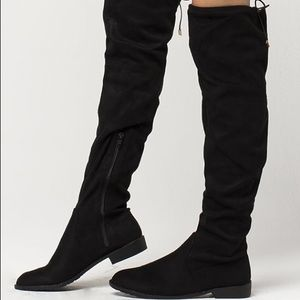 Sam Edelman Over The Knee Boots 8.5