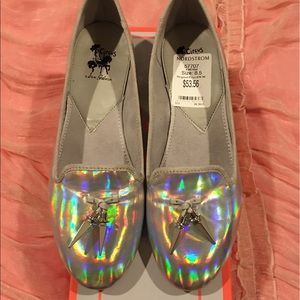 Circus by Sam Edelman Shoes - Holographic iridescent flats