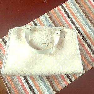 Pierre Cardin Handbags - Authentic Pierre Cardin Vintage Canvas/leather bag