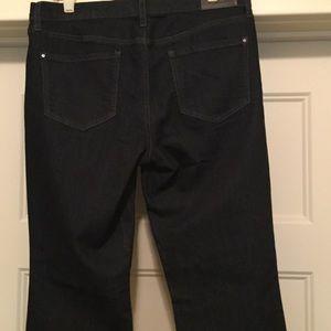 DKNY Jeans - DKNY Jeans. SOHO BOOT. Dark Wash. Like New. Size 6