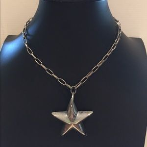 Jewelry - Silver star necklace