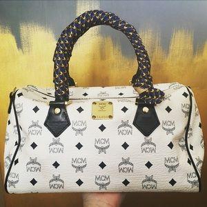 MCM Handbags - MCM Boston Bag