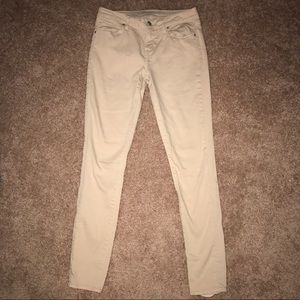 Articles of Society Jeans Beige khaki pant skinny
