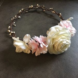 Evelyn Floral Crown