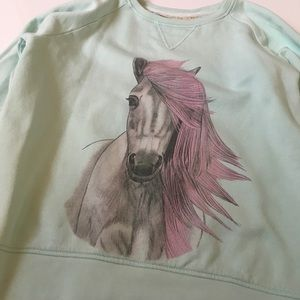 Soft Gallery Other - Horse Sweatshirt By Soft Gallery Size 8