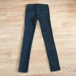 All Saints Ashby black jeans low rise skinny fit