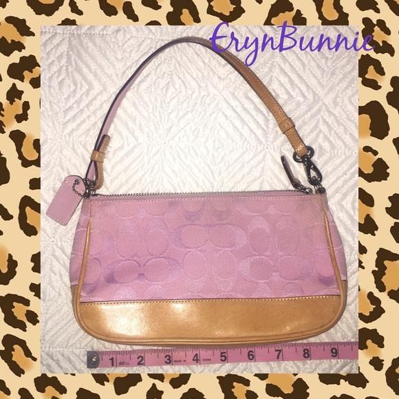 87 off coach handbags light pink coach purse from