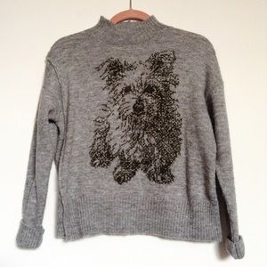 Anthropologie Tops - Anthropologie dog sweater
