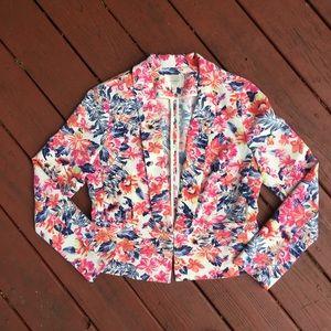 Anthropologie Jackets & Blazers - Anthropologie Floral Spring Summer Blazer