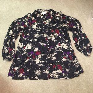 Parker Tops - Parker floral silk blouse
