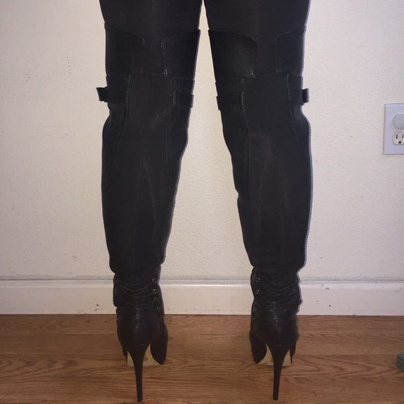 4 bakers shoes bakers thigh high vixon boots new