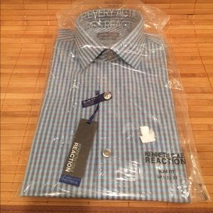 Kenneth Cole Reaction Other - Kenneth Cole Reaction Men's Shirt- NWT 14.5 32/33