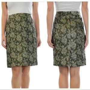 J. Crew Dresses & Skirts - J. Crew Collection Crushed Jacquard Pencil Skirt