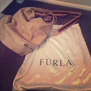 Furla Handbags - AUTHENTIC FURLA LEATHER HANDBAG