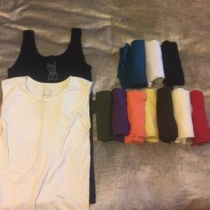 Tees by Tina Tops - HUGE selection of solid color tank tops!!!