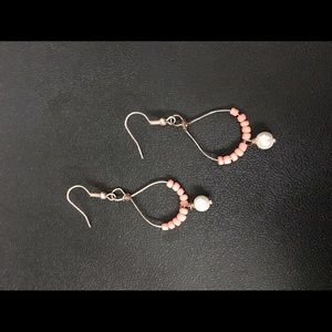 Jewelry - 🎁Rosey Gold Pearly Drops