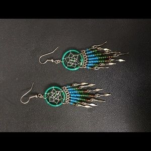 Jewelry - American Indian Dream Catcher Drops