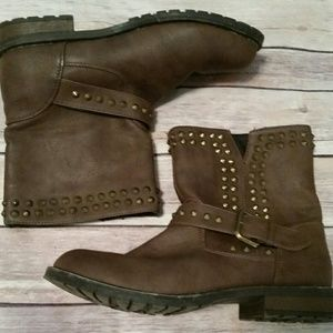 Bumper Shoes - 🌟BUY 2 GET 1 FREE🌟 Studded Moto Boots