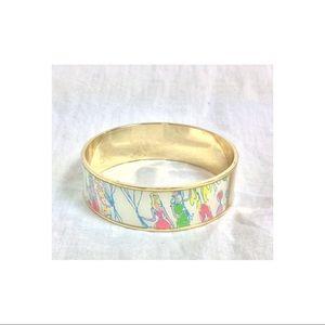 Lilly Pulitzer Jewelry - Lilly Pulitzer birthday balloon enamel bracelet
