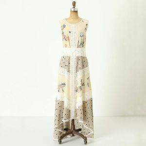Anthropologie Dresses & Skirts - Anthropologie Field Biology Floral Lace Maxi Dress