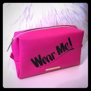 Juicy Couture makeup cosmetic bag Wear Me
