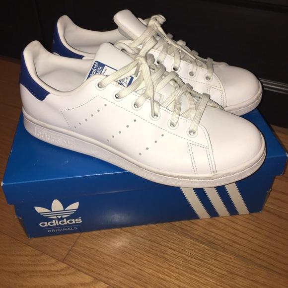 huge selection of ba627 78266 Adidas Stan Smith Shoes Big girl size 6