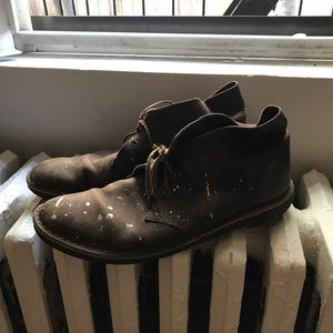 Clarks Other - Clarks Original Desert Boot with paint splatter
