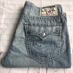 True Religion Other - NWT True Religion Light Wash 38x29 Jean