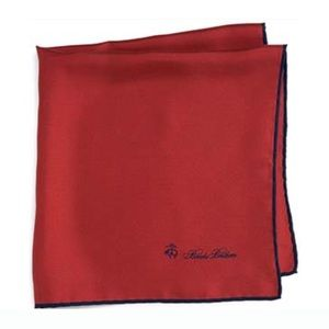 Brooks Brothers Other - Brooks Brothers 💯SILK Made in Italy Pocket Square